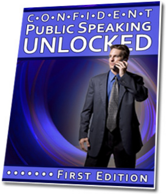 Product picture Confident Public Speaking Unlocked - With PLR